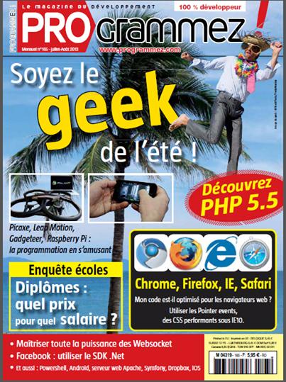Magazine Programmez! été 2013
