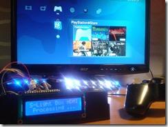 Test avec une PS3