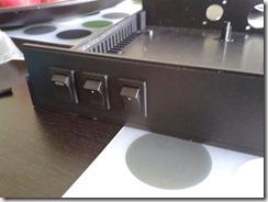Installation des interrupteurs