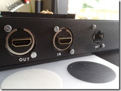 Embases HDMI & RJ45