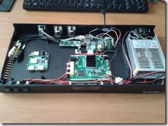 Installation des PCB