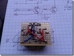 Cablage du circuit de relais
