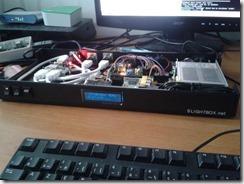SlightBox V3 en cours de programmation