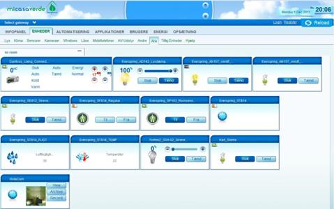 interface web ui5 de la vera lite