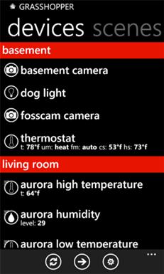 client sur windows phone 7 client android
