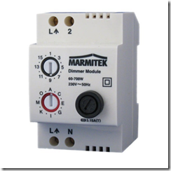 Module X10 sur Rail DIN