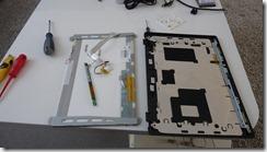 Récupération de la dalle LCD