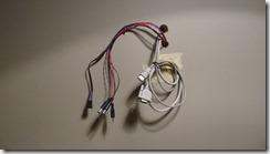 Arrivée des cables dans l'entrée