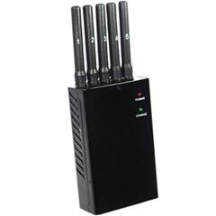 Jammer portable CDMA/SM/DCS/PCS/3G/4G-LTE/GPS/Winmax