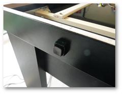 Installation d'un bouton poussoir
