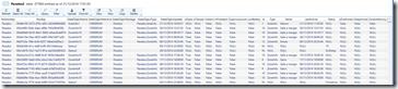 Lecture de notre table dynamique avec Azure Storage Explorer