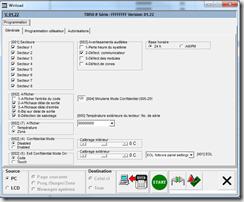 Configuration du clavier TM50