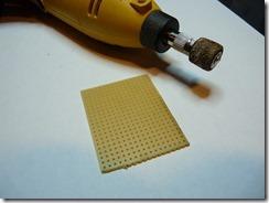 Préparation de la plaque epoxy