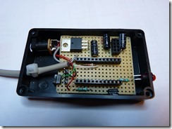 Installation du circuit dans un boiter ABS