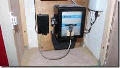 Installation du dispositif sur le compteur electrique