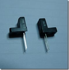 Préparation de l'opto-interrupteur