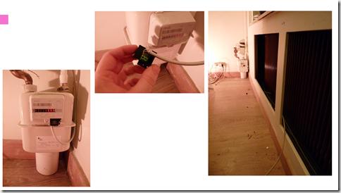 Installation du module sur mon compteur de gaz