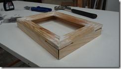 Fixation des tasseaux de bois