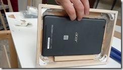 Installation du support pour la tablette