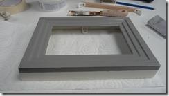 Peinture du cadre