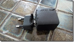 Découpe de l'alimentation USB 5V 1.35A
