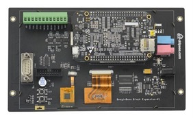"7"" Touchscreen and Expansion I/O for BeagleBone Black"