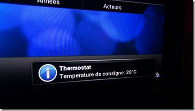 Notification du thermostat Nest dans Kodi