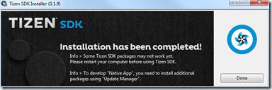 SDK Tizen 2.4 Rev1