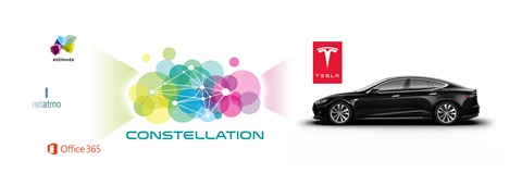 Constellation et Tesla