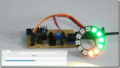 Contrôler l'anneau lumineux en Javascript