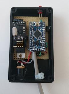 Version originale basée sur un Arduino Mini et un nRF24L01