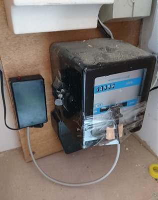 Réinstallation sur le compteur electrique