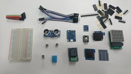 Contenu du pack Maker ESP8266
