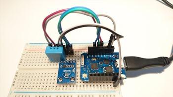 Capteur de température, humidité et luminosité connecté