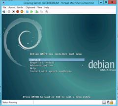 VM Debian