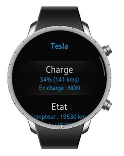 Pilotage de la Tesla