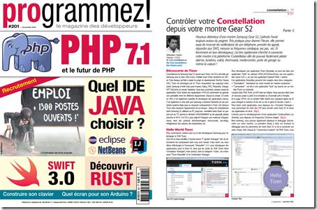 Magazine Programmez! n° 201
