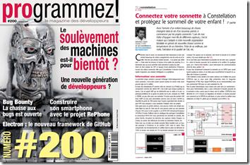 Magazine Programmez! n°200 (Octobre 2016)